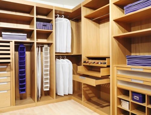 Como fazer um closet com a ajuda da marcenaria